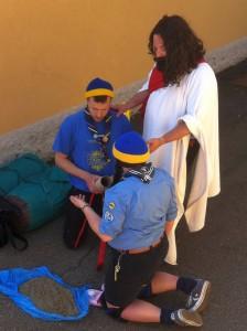 Miriam ed Emmanuel con Gesù