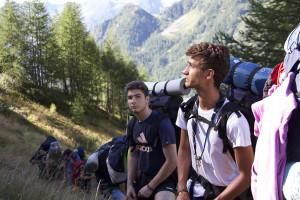 In cammino verso Kandersteg