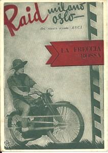 Freccia Rossa cartolina