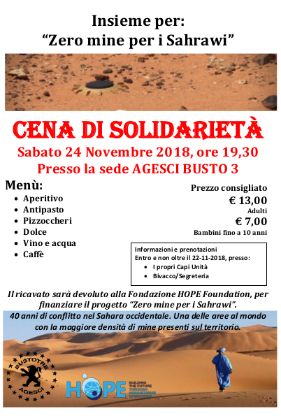 Zero mine per i Sahrawi